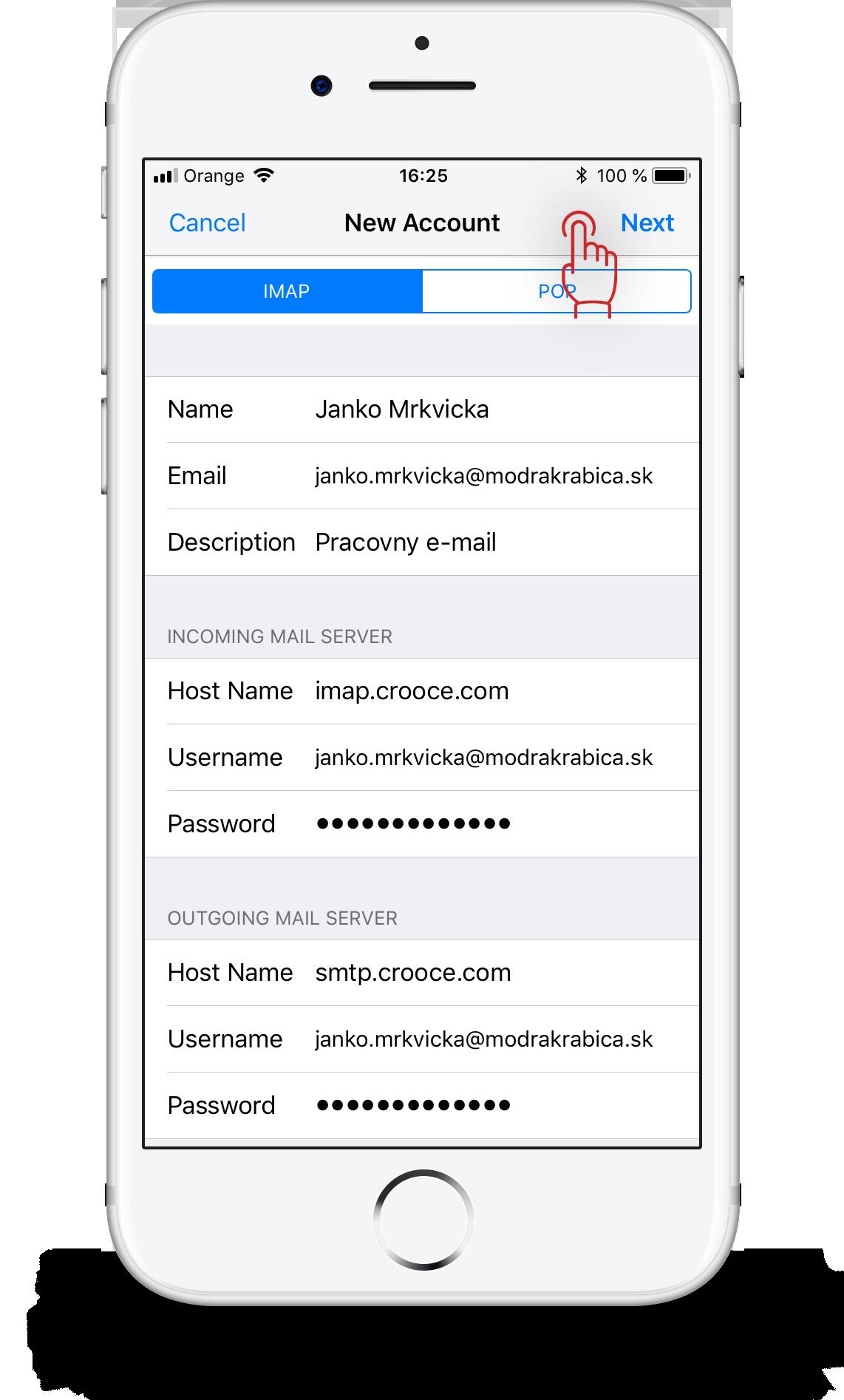 pripojiť Outlook email iPhone Zoznamka lokality západ Sussex